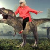 Paula Deen Riding Things