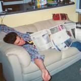 You Fell Asleep Watching a DVD