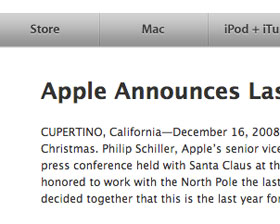 Apple Cancelled Christmas