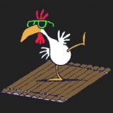 Chicken on a Raft