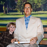 Tom Hanks in a Wax Museum