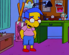 Coming up Milhouse