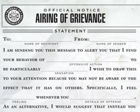 Airing of Grievance